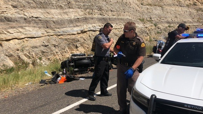 3 people dead, one in critical condition from 3-motorcycle crash