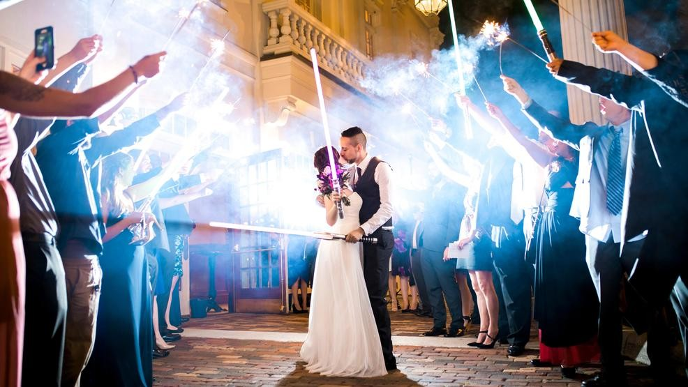 May 4 A K A Star Wars Day Third Most Popular Wedding Date In Country Kutv