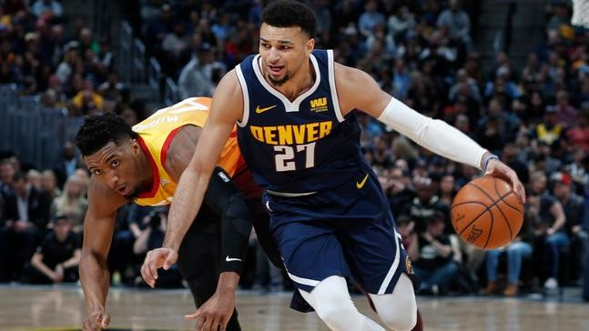 570cf186a Denver Nuggets guard Jamal Murray
