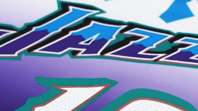 huge discount 9360a 4ef19 Utah Jazz bring back iconic purple mountain jerseys for 2019 ...