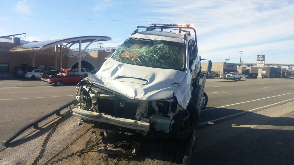 Carjacking In Slc Leaves 12 Vehicles Damaged Suspect Still On The
