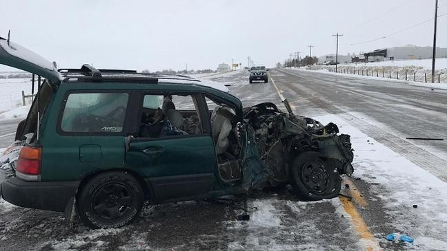 UHP responds to fatal crash in Cache County, near Idaho