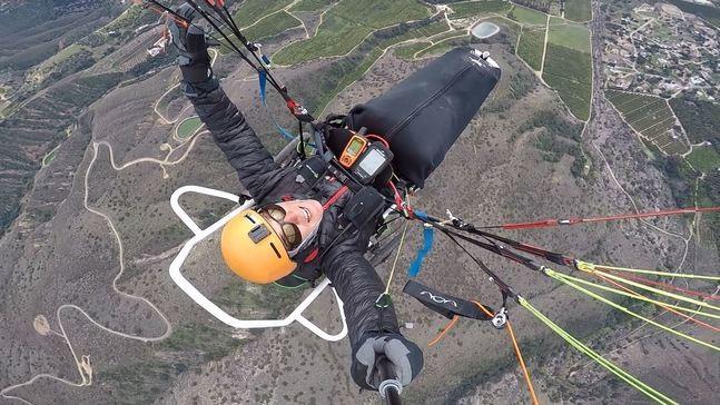 Quadriplegic paraglider traveling through Utah has trailer home