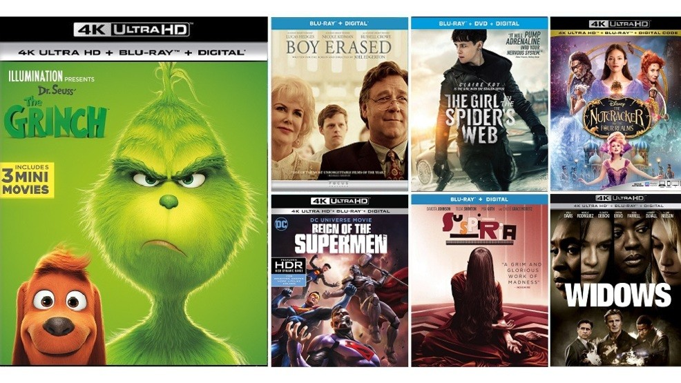 New Blu Ray Releases 2019 New DVD, Blu ray and digital release highlights for the week of
