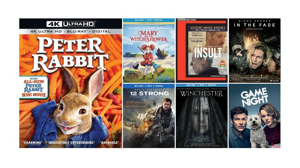 New DVD, Blu-ray and digital release highlights for the week of May