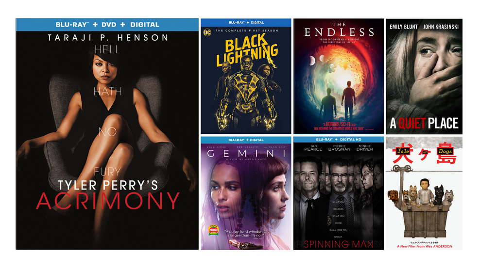 New DVD, Blu-ray and digital release highlights for the week of June