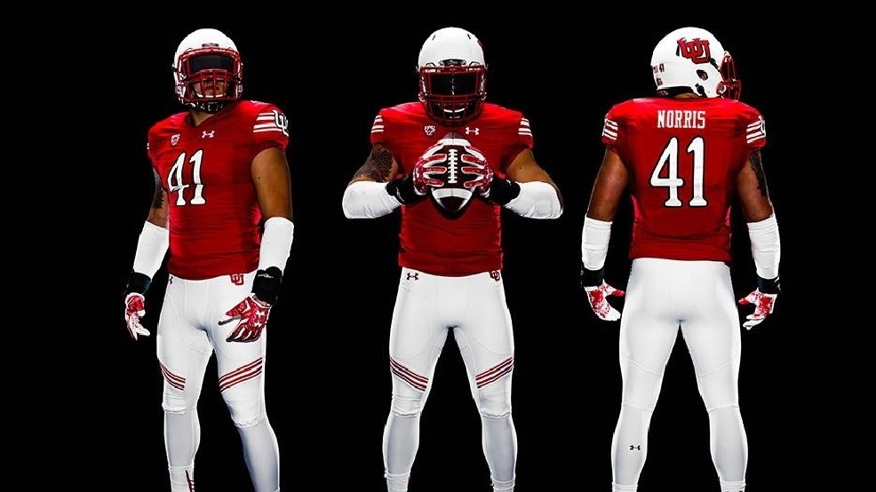the latest 7c797 38b93 Utah football releases throwback uniform for upcoming season ...