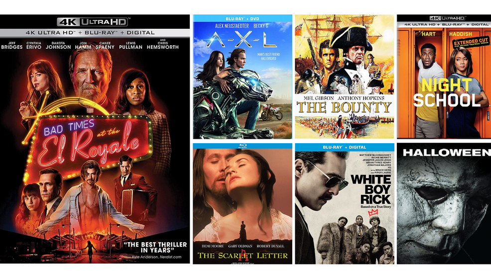 New DVD, Blu-ray and digital release highlights for the week of