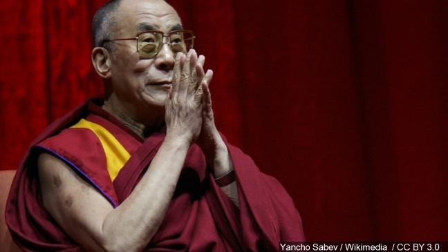 WATCH LIVE: Dalai Lama to speak at Huntsman Center Tuesday