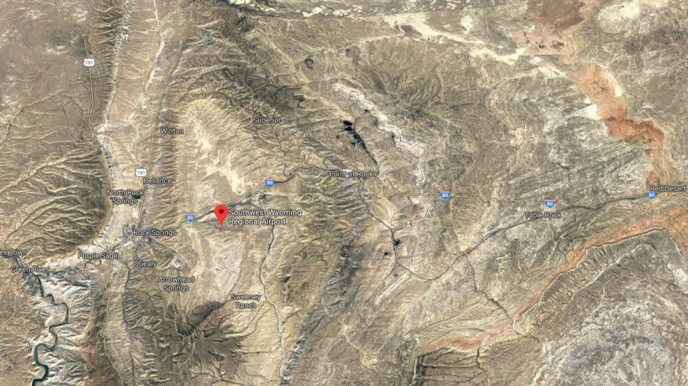 Airplane makes emergency landing in desert near Rock Springs ... on sketchup airplane, google satellite live camera, google earth airplane, apple maps airplane, facebook airplane, google airplane simulator, mapquest by airplane,