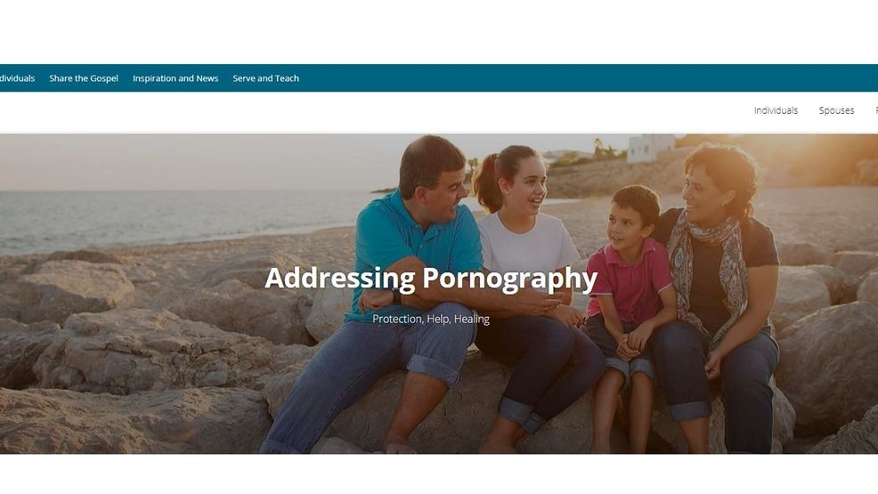 The Church of Jesus Christ of Latter-day Saints announced Wednesday that it  has updated its website that helps its members overcome pornography use.