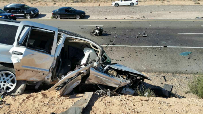 Road rage may have started fatal crash that closed I-15