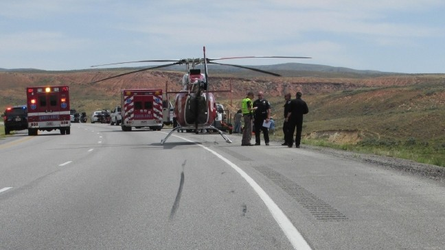 Wife killed, husband hurt critically in motorcycle accident